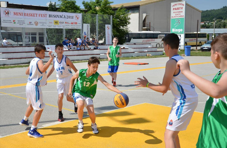 "(VIDEO) Završen ""Mini basket fest Busovača 2018"